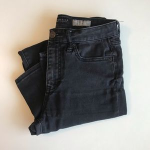Black Aeropostale high waisted jegging